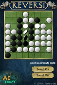 Reversi Android intro screen