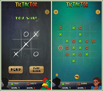 Android Tic Tac Toe Universe